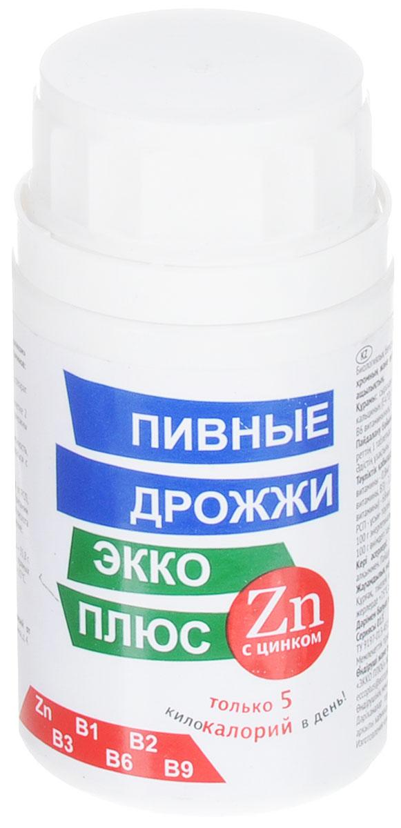 Пивные дрожжи Экко Плюс, с цинком, 100 таблеток19623Пивные дрожжи Экко Плюс рекомендованы в качестве биологически активной добавки к пище - дополнительного источника цинка и витаминов: В1, В2, В6, ниацина, фолиевой кислоты. Цинк в органической форме оказывает поддержку иммунной системе, противостоит инфекциям, способствует уравновешиванию сахара в крови, ускоряет заживление ран, в том числе труднозаживающих при диабете. Помогает лучше усваивать и запоминать информацию. Способствует нормальному функционированию предстательной железы, составляет основу репродуктивного здоровья обоих полов.При нехватке цинка люди становятся слабыми, малоподвижными и могут приобретать лишний вес, несмотря на снизившийся аппетит. Состав: пивные дрожжи сухие, мкц (Е460), окись цинка, никотиновая кислота, стеарат кальция (Е470), витамин В6, витамин В2, витамин В1, фолиевая кислота. Противопоказания: индивидуальная непереносимость компонентов, беременность, кормление грудью. Товар не является лекарственным средством. Товар не рекомендован для лиц младше 18 лет. Могут быть противопоказания, следует предварительно проконсультироваться со специалистом. Товар сертифицирован.