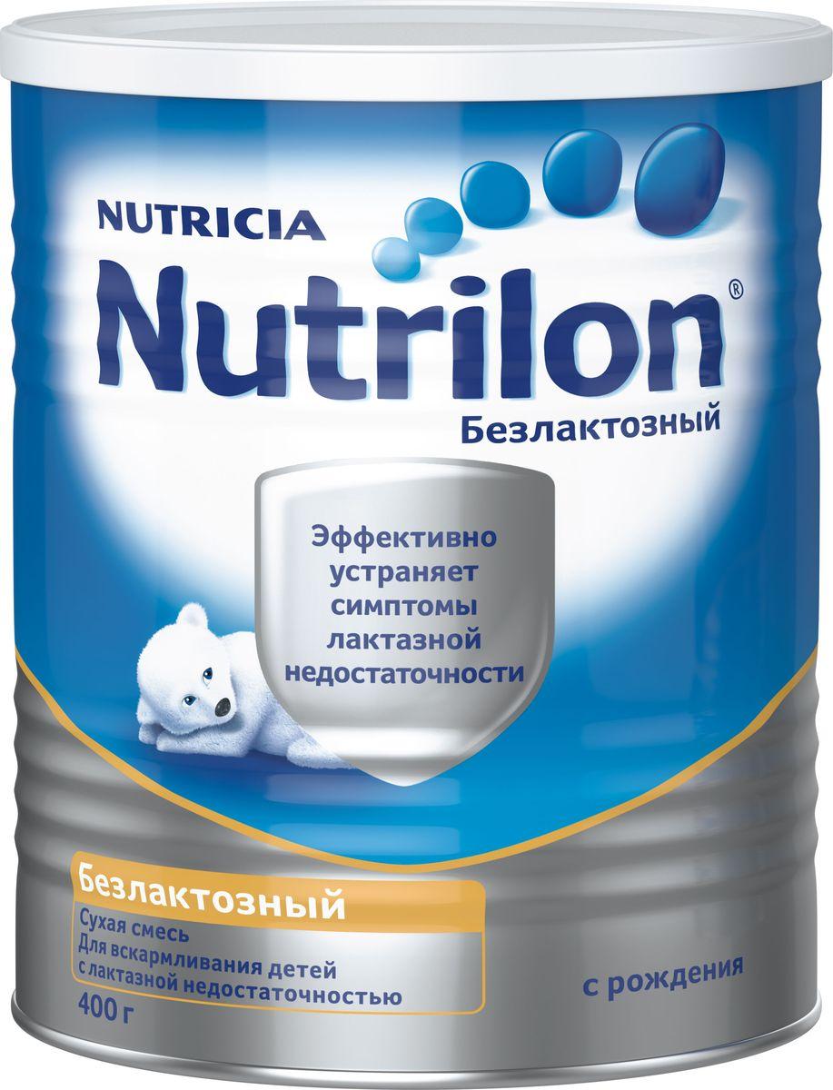Nutrilon Безлактозный специальная смесь, с рождения, 400 г0120710Молочная смесь Nutrilon (Нутрилон) Безлактозный с рождения 400 г Nutrilon Безлактозный - смесь, специально разработанная для детей с непереносимостью лактозы. Лактоза в этой смеси заменена на легко усвояемый компонент – глюкозный сироп. Непереносимость лактозы часто наблюдается при кишечных инфекциях. В этом случае использование безлактозной смеси обеспечивает быстрое восстановление функции желудочно-кишечного тракта. Смесь может применяться как единственный источник питания при отсутствии возможности грудного вскармливания у детей с рождения с неполной или полной лактазной недостаточностью, а также для частичной замены рациона.