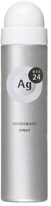 Shiseido Ag Deo24 Спрей дезодорант-антиперспирант с ионами серебра без запаха, 40 г4108040В составе дезодоранта содержится новейшее сочетание порошка и жидкости, которое позволяет ему плотно ложиться на кожу. Высыхает сразу же после нанесения, не оставляя ни малейшего ощущения липкости. Благодаря апатиту, содержащему ионы серебра, блокирует размножение бактерий, исключая появление неприятного запаха пота. Создает эффект «впитывающей ткани», благодаря содержанию в составе дезодоранта квасцов, абсорбирующих пот. Дезодорант блокирует потоотделение, делает кожу подмышек сухой, мягкой и гладкой, не оставляет белых следов. Обеспечивает ощущение свежести и комфорта в течение всего дня. Не имеет запаха, благодаря чему не перебивает аромат вашего парфюма.