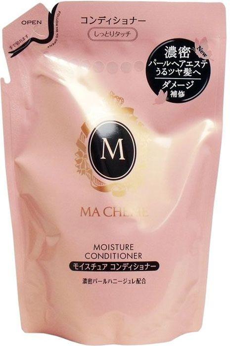 Shiseido Ma Cherie Увлажняющий кондиционер для волос с цветочно-фруктовым ароматом, 380 мл1303Мягкий состав кондиционера хорошо увлажняет волосы, не перегружая их. Кондиционер подходит для ежедневного применения, не сушит концы, делает волосы струящимися, придаёт видимый блеск. Используется для усиленного увлажнения пересушенных потускневших волос, нуждающихся в специальном уходе, наполняет Ваши волосы полезными компонентами. Формула кондиционера MA CHERIE восстанавливает структуру волос, делает их легкими и шелковистыми. В результате применения кондиционера у Вас упругие и эластичные волосы.