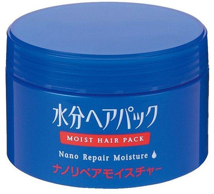 Shiseido Moist Hair Pack Увлажняющий нано-бальзам для поврежденных волос, 100 г025Уход и восстановление поврежденных волос на нано-уровне! Особые ингредиенты нано-бальзама глубоко проникают в волосяной стержень, предотвращает дальнейшее повреждение волос и восстанавливает струкутуру волос, тщательно напитывая их влагой.Применяйте средство перед сном и просыпайтесь со здоровыми и гладкими волосами.Избавляет волосы от неприятных запахов и придает им чистый цветочный аромат.