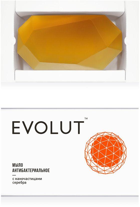 Evolut Мыло антибактериальное для лица и тела с наночастицами серебра, 95 г270011Очищающее мыло для кожи склонной к жирности и для проблемной кожи. Подтвержденное дерматологами эффективное средство от акне, прыщей, папул пустул, комедонов.+ По результатам исследований мыло устраняет угревую сыпь и улучшает состояние кожи на 75% в первый месяц использования. Кожа в тяжелом состоянии полностью оздоравливается за 3 - 6 месяцев.+ За счет малого размера наночастицы серебра проникают во внутренние слои кожи, уничтожая очаги развития бактерий и устраняя все кожные воспаления.+ Нормализует работу сальных желез. Удаляет излишки жира, очищает закупоренные поры.+ Питает кожу полезными веществами и микроэлементами.+ Основу мыла образуют кокосовое и касторовое масла, органические масла цитрусовых и растительный глицерин. Они оптимальны по составу для нашей кожи и помогают восстановить структуру липидов кожного барьера.+ Полностью экологичный и безопасный состав.