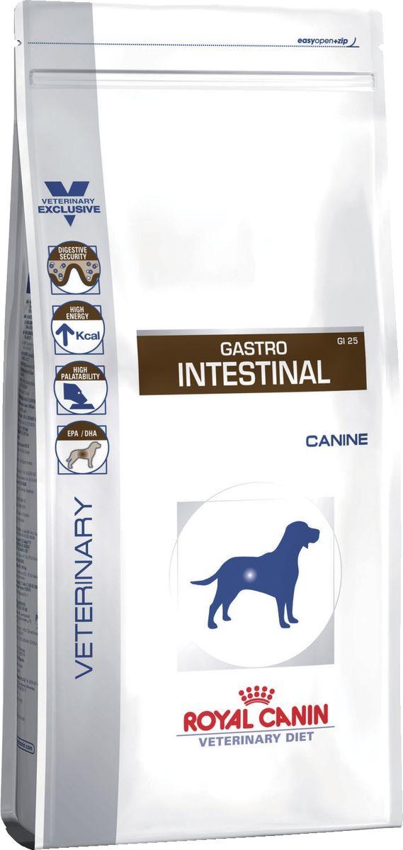 Корм сухой Royal Canin Vet Gastro Intestinal GI25, для собак при нарушениях пищеварения, 14 кг66242Royal Canin Gastro Intestinal GI25 (Лечебный корм Роял Канин Гастро Интестинал для собак Нарушение пищеварения) - полноценный сбалансированный и вкусныйлечебный корм для собак с нарушением нормального процесса переваривания пищи. Диета для собак при: - острой и хронической диареи; - воспалительных заболеваниях кишечника; - нарушении переваривания, всасывания; - колите; - выздоровлении после болезни; - бактериальном росте в тонком кишечнике; - экзокринной недостаточности поджелудочной железы; - гастрите; - анорексии. Состав: рис, дегидратированное мясо птицы, животные жиры, кукуруза, гидролизат белков животного происхождения, дрожжи, яичный порошок, свекольный жом, соевое масло, минеральные вещества, растительная клетчатка, рыбий жир, фруктоолигосахариды (ФОС), оболочка и семена подорожника, гидролизат дрожжей (источник маннановых олигосахаридов), экстракт бархатцев прямостоячих (источник лютеина). Товар сертифицирован.