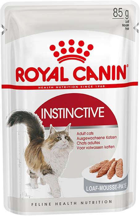 Консервы Royal Canin Instinctive, паштет для взрослых кошек, 85 г66619Полноценный консервированный рацион для взрослых кошек старше 1 года в виде нежнейшего паштета. Помогает поддержать здоровье мочевыделительной системы, сокращая концентрацию минеральных веществ, способствующих образованию мочевых камней, а также способствует поддержанию идеальный вес животного. Состав:мясо и мясные субпродукты, субпродукты растительного происхождения, злаки, минеральные вещества, экстракт белков растительного происхождения, источники углеводов. Гарантированный анализ:Белки - 12 %Жиры - 3,3 %Минеральные вещества - 2 %Клетчатка пищевая - 1,3 %Влажность - 80 %Добавки (на 1 кг): витамин D3 - 130 МЕ, железо - 3 мг, йод - 0,28 мг, медь - 2,3 мг, марганец - 0,9 мг, цинк - 9,5 мг. Товар сертифицирован.