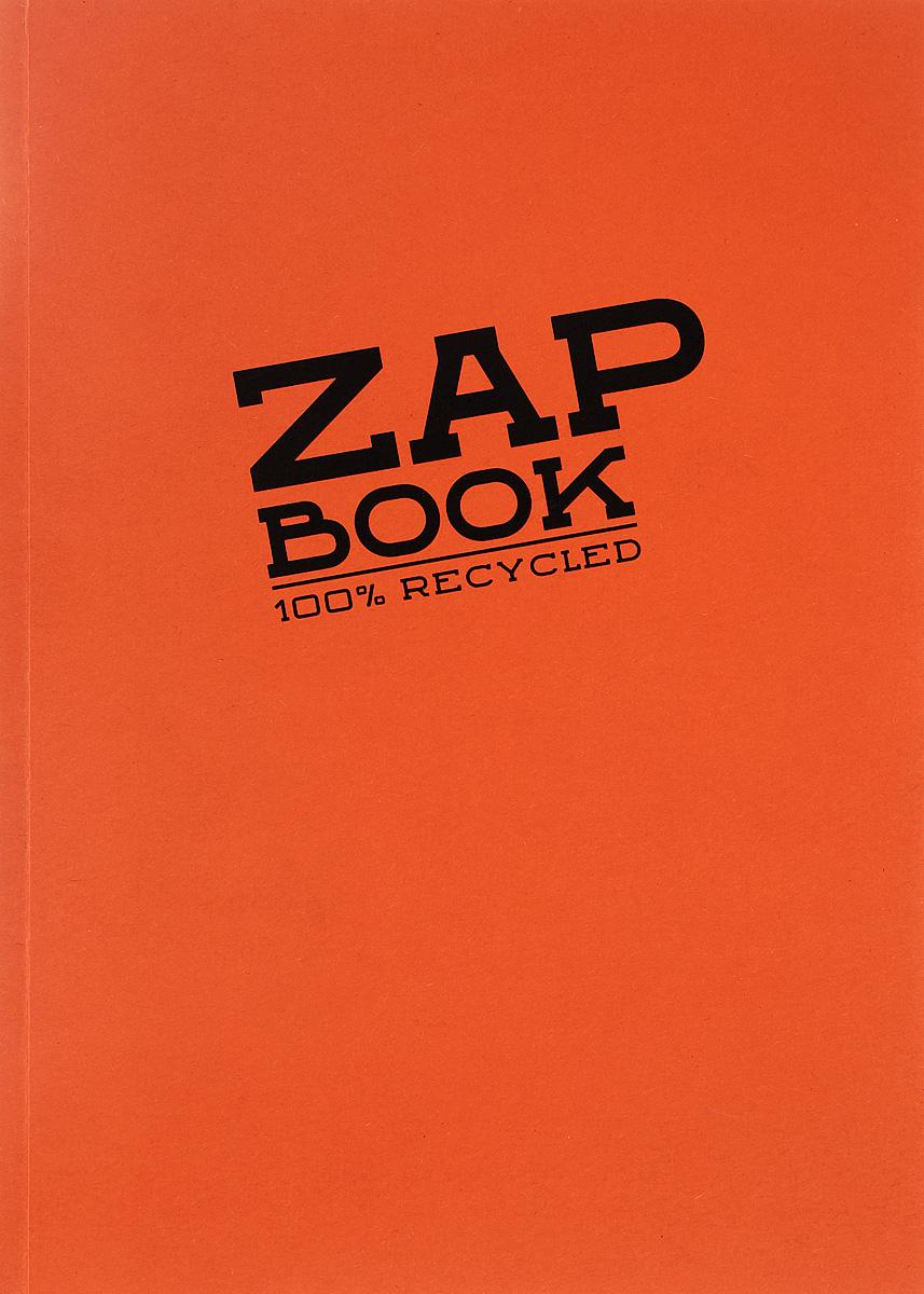 Блокнот Clairefontaine Zap Book, цвет: оранжевый, формат A5, 160 листов72523WDОригинальный блокнот Clairefontaine идеально подойдет для памятных записей, любимых стихов, рисунков и многого другого. Плотная обложкапредохраняет листы от порчи изамятия. Такой блокнот станет забавным и практичным подарком - он не затеряется среди бумаг, и долгое время будет вызывать улыбку окружающих.