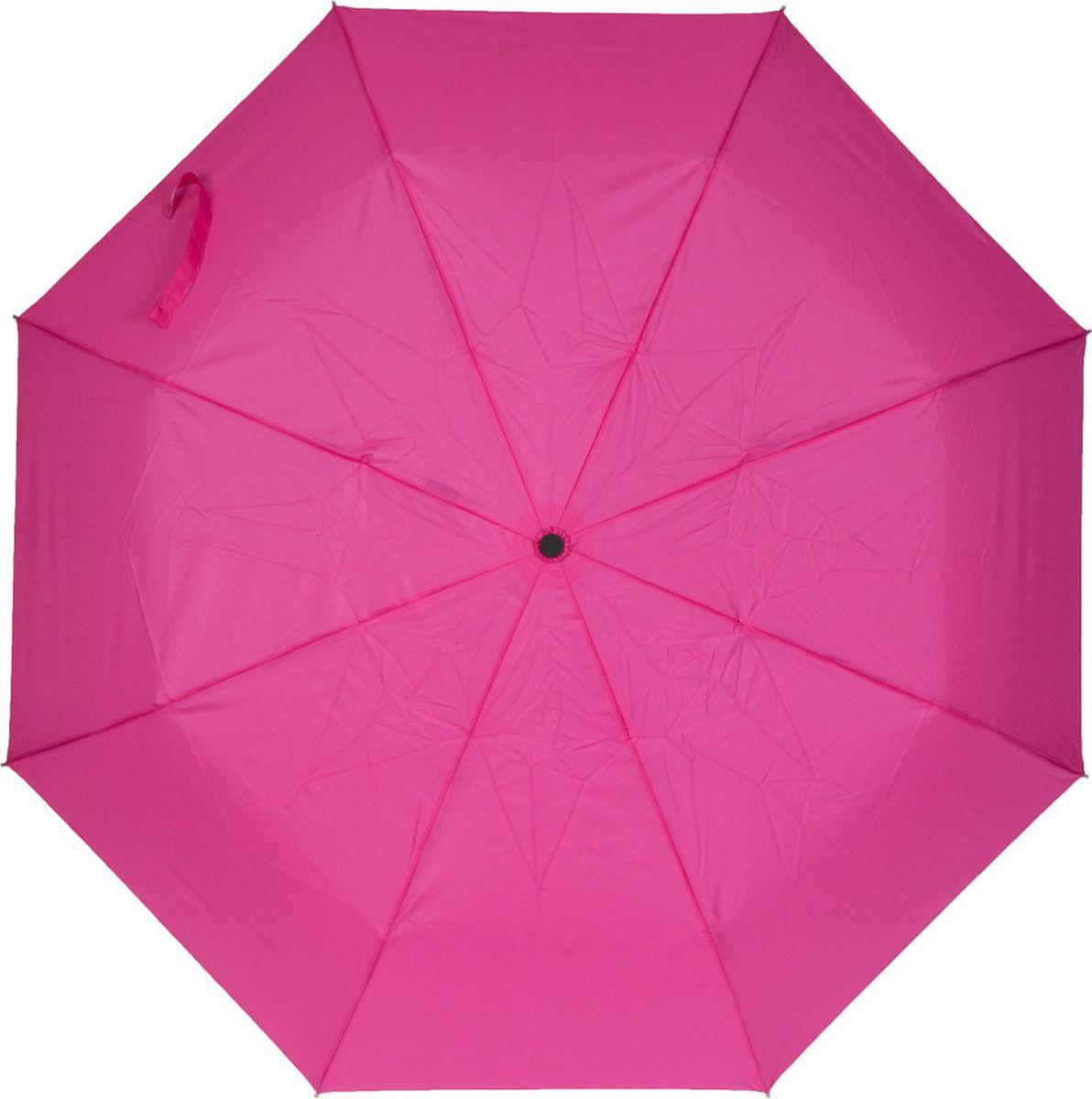 Зонт женский Labbra, цвет: фуксия. A3-05-LT200A3-05-LT200Женский зонт-автомат торговой марки LABBRA с проявляющимся рисунком. Изображение на зонте начинает проявляться, как только ткань купола намокает, при высыхании рисунок тускнеет и исчезает. Купол: 100% полиэстер, эпонж. Материал каркаса: сталь + алюминий + фибергласс. Материал ручки: пластик. Длина изделия - 29 см. Диаметр купола - 105 см.