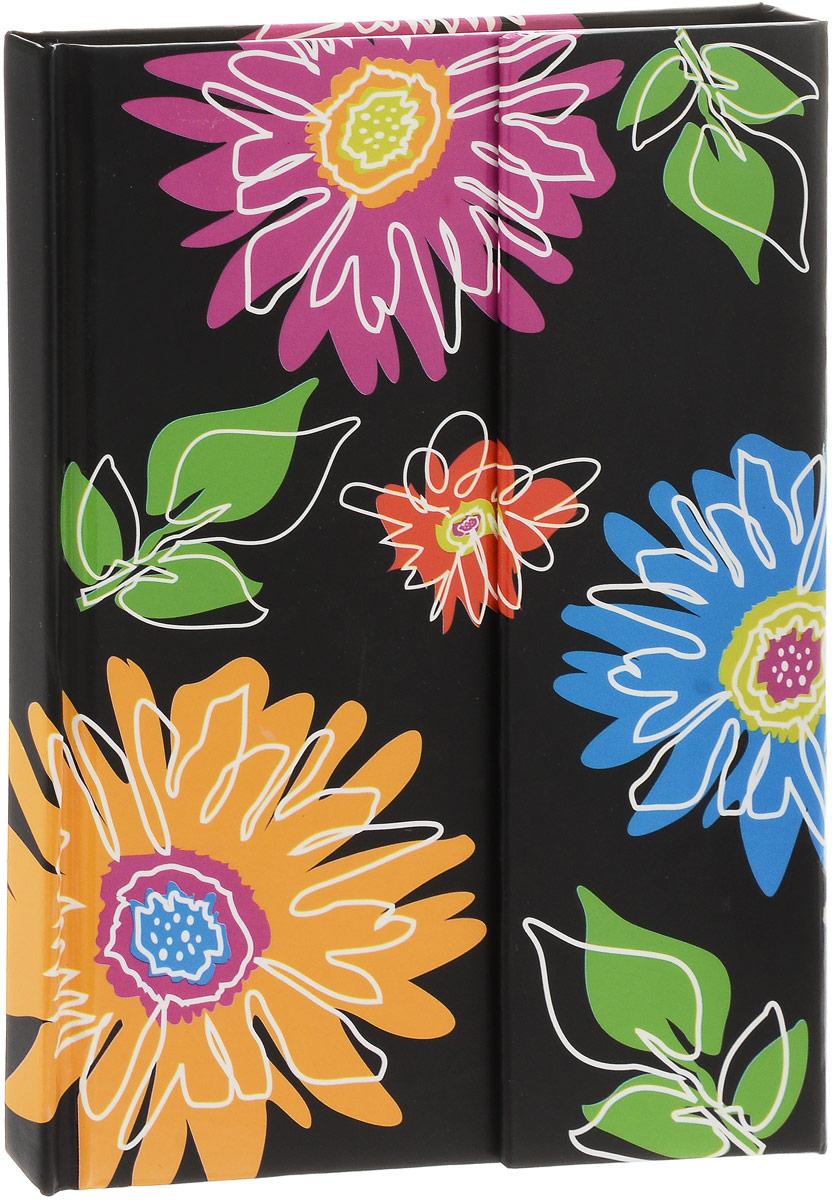Brauberg Блокнот Tender 80 листов в клетку цвет черный125732_черный/цветыБлокнот Brauberg Tender содержит 80 листов кремовой бумаги формата А6 с разметкой в клетку. Дизайн-обложка выполнена в технике нанесения лака на печатный рисунок. Магнитный клапан защитит внутренний блок от повреждений и изящно дополнит общий образ.