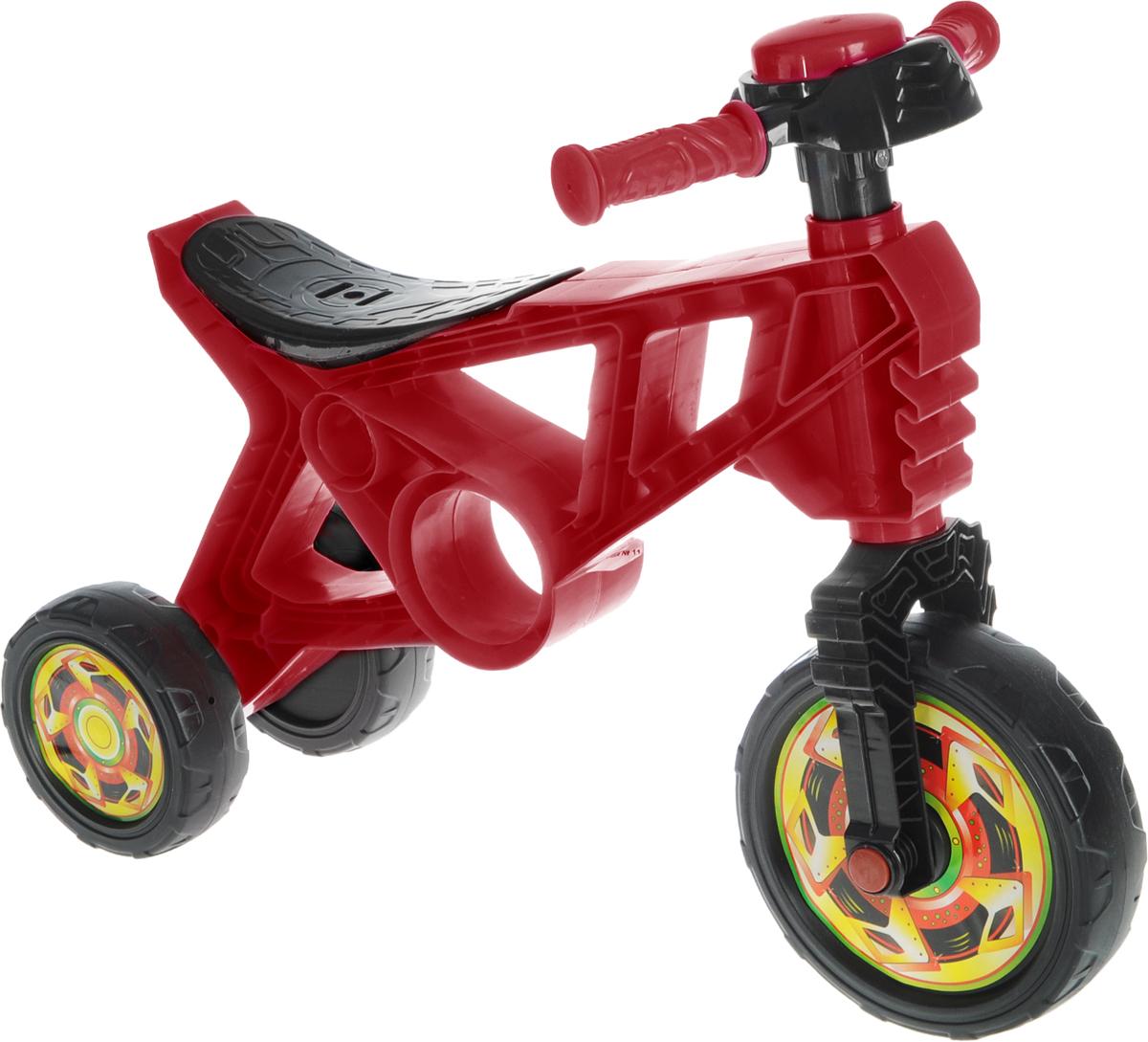 Орион Беговел детский 3-х колесный цвет красный