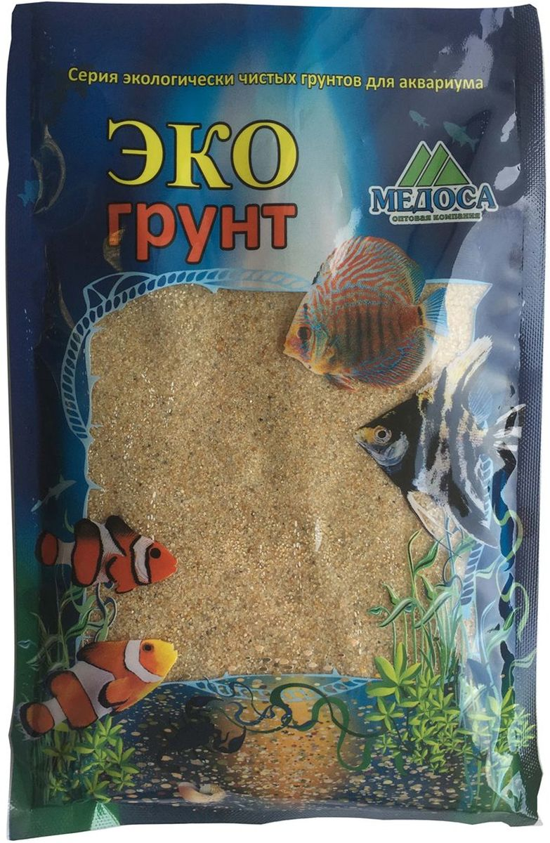 Грунт для аквариума ЭКОгрунт Солнечный, 0,5-1 мм, 1 кг500044