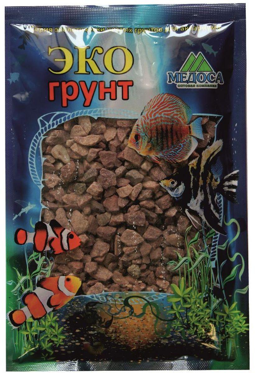 Грунт для аквариума ЭКОгрунт Малиновый, кварцит, 3-6 мм, 1 кг510011