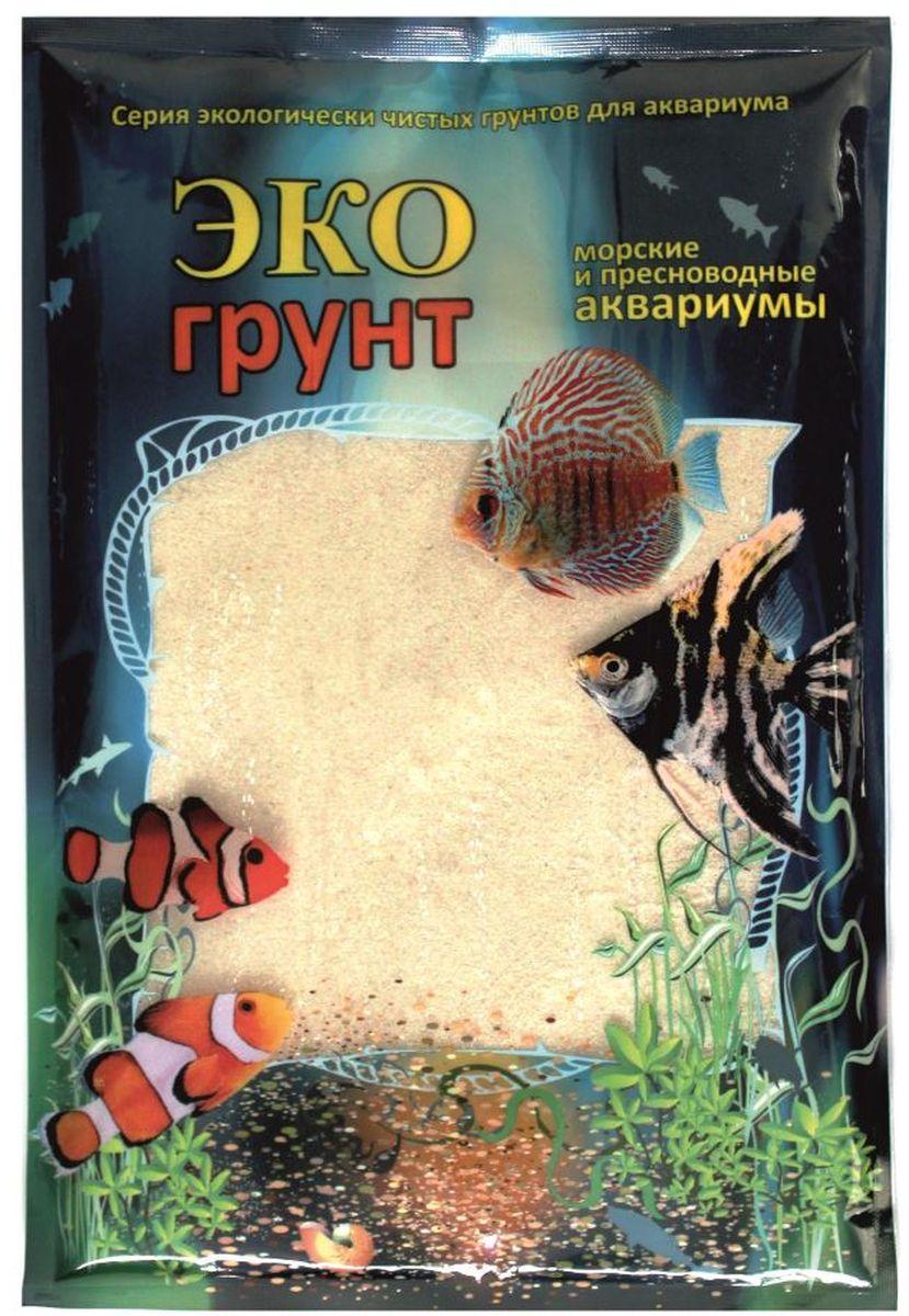 Грунт для аквариума ЭКОгрунт Белый, кварцит, 0,3-0,9 мм, 1 кг520010