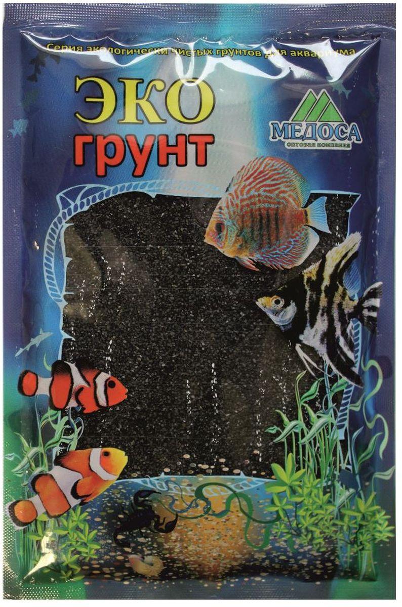 Грунт для аквариума ЭКОгрунт, песок, цвет: черный, 0,5-1 мм, 3,5 кгг-0024