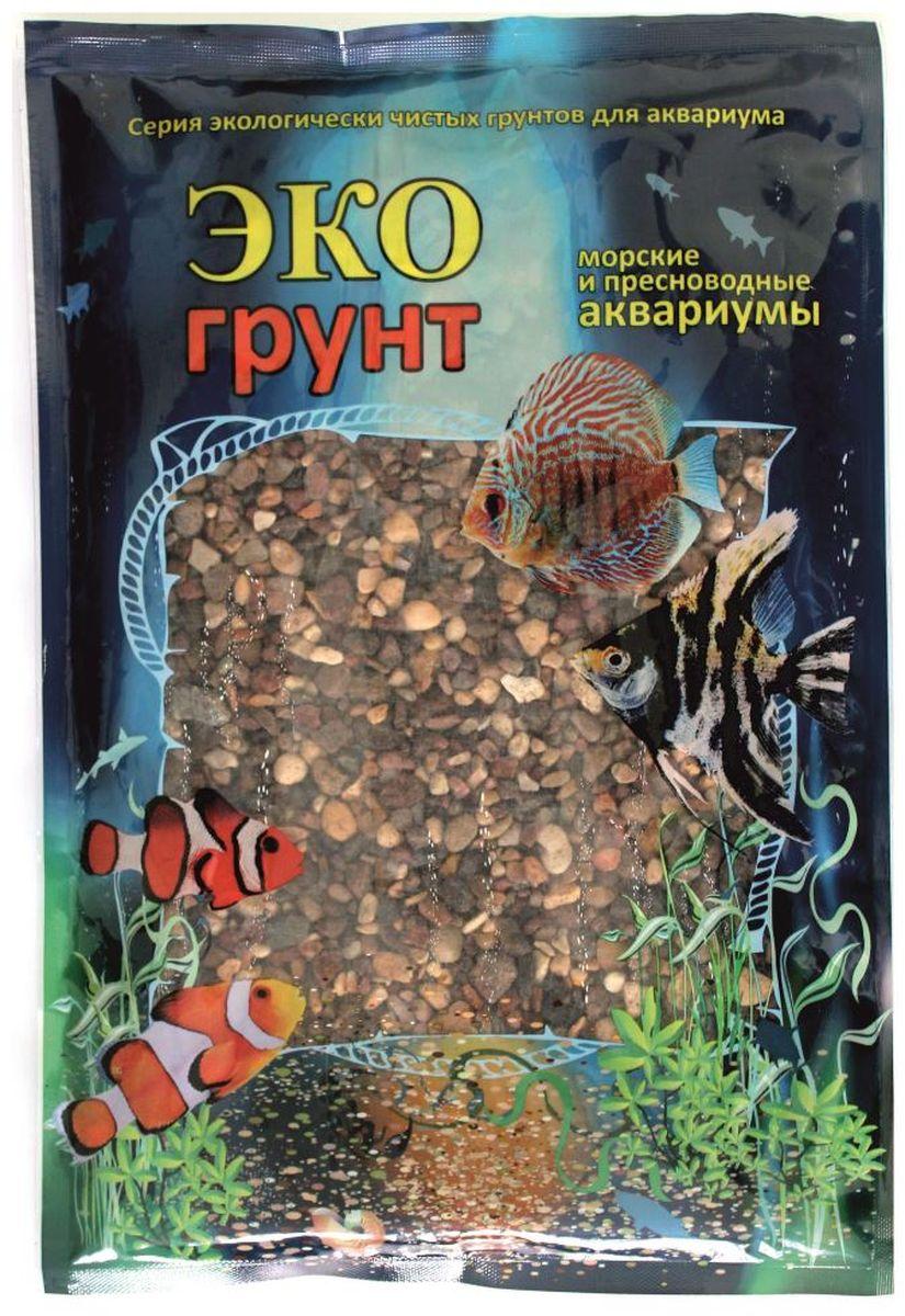 Грунт для аквариума ЭКОгрунт Речной, гравий, 4-8 мм, 3,5 кгг-0083