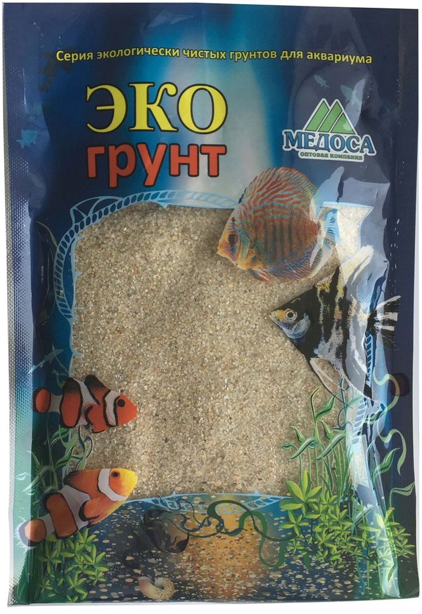 Грунт для аквариума ЭКОгрунт Лунный, 0,5-1 мм, 3,5 кгг-0118