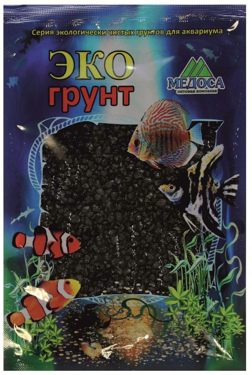 Грунт для аквариума ЭКОгрунт, мраморная крошка, цвет: черный, 2-5 мм, 3,5 кгг-1001