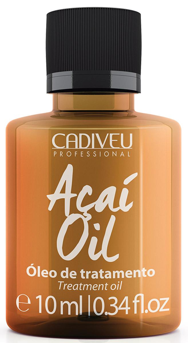 Cadiveu Масло Асаи Acai Oil, 10 мл67038185Масло имеет легкую, нежирную консистенцию, легко впитывается, не оставляя следов. Масло питает, увлажняет, уплотняет, восстанавливает секущиеся кончики волос, защищает от вредного воздействия солнечных лучей, ветра, повышенной влажности, термических приборов для укладки. Волосы становятся шелковистыми, мягкими и блестящими. Предотвращается старение волос. Масло асаи содержит в 10 раз больше антиоксидантов по сравнению с другими маслами — это настоящий эликсир для волос!