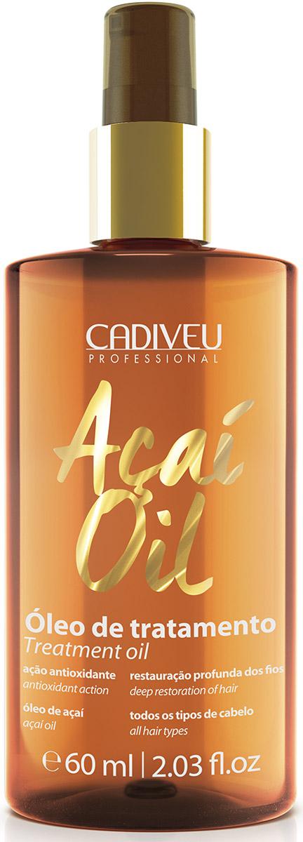 Cadiveu Масло Асаи Acai Oil, 60 млPA0010Масло имеет легкую, нежирную консистенцию, легко впитывается, не оставляя следов. Масло питает, увлажняет, уплотняет, восстанавливает секущиеся кончики волос, защищает от вредного воздействия солнечных лучей, ветра, повышенной влажности, термических приборов для укладки. Волосы становятся шелковистыми, мягкими и блестящими. Предотвращается старение волос. Масло асаи содержит в 10 раз больше антиоксидантов по сравнению с другими маслами — это настоящий эликсир для волос!