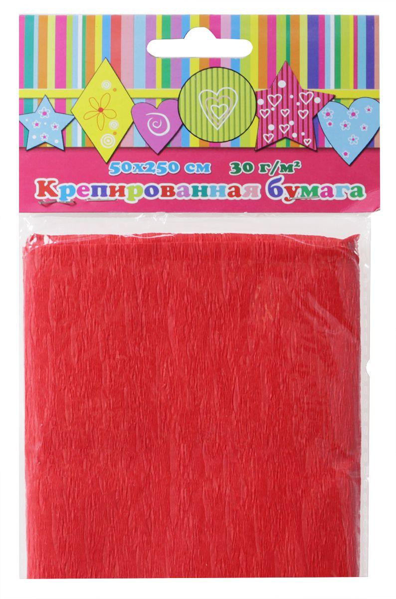 Феникс+ Бумага крепированная цвет красный 50 х 250 см 3643636436Бумага эластичная крепированная.Цвет: красный.1 лист, 1 цвет.Размер: 500х2500 мм.Плотность 30г/м2.