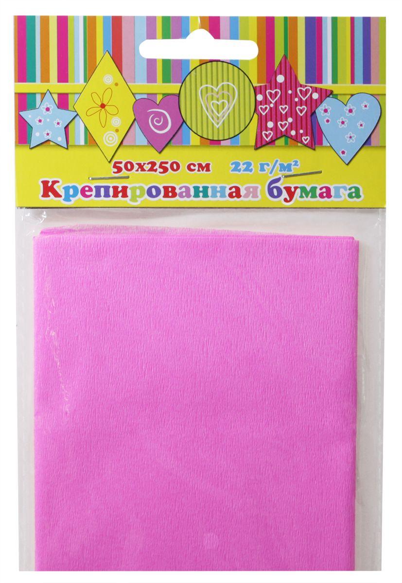 Феникс+ Бумага крепированная цвет розовый 50 х 250 см28581Крепированная цветная бумага.Цвет: розовый.Крепированная бумага может использоваться для упаковки, поделок, декорирования и других видов творчества.1 лист.Размеры: 500х2500 мм.Материал: бумага.Упаковка: пластиковый пакет с подвесом.