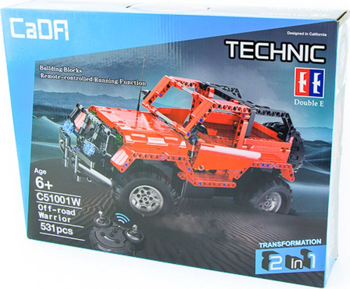 Pilotage Конструктор CaDA Technic Off-road Warrior - Конструкторы