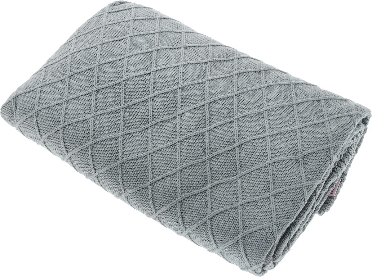 Плед Apolena Rhomb, цвет: серый, 130 х 180 см87-V453/1Вязаный плед Apolena Rhomb выполнен из мягкой объемной пряжи (100% акрил) с модным рисунком ромб. Такой плед пригодится в любое время года. Удобство, комфорт, стиль и экологичность в одном предмете.Плед является отличным подарком, ведь он будет всегда актуален, особенно для ваших родных и близких, ведь вы дарите им частичку своего тепла!
