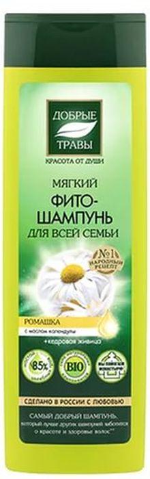 Добрые травы Мягкий фито-шампунь для всей семьи, 520 мл