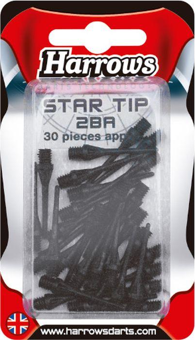 Иглы для дротиков запасные Harrows Софтип Микро, цвет: черный, 30 шт5017626008957_черныйСменные иглы микро для дротиков электронного дартс из композитного материала Graftex, используемого в космической технике.
