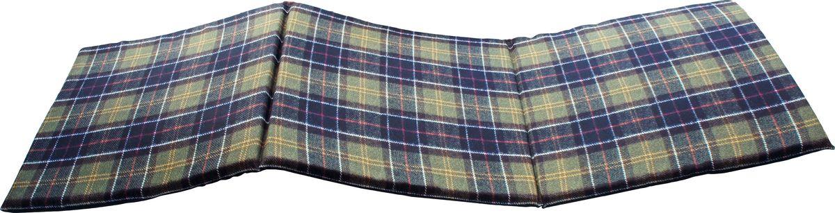 Матрас для шезлонга GiftnHome Шотландка, 40 х 120 см2029654SEAT-3 Шотландка Сидушка лежак Шотландка 3х секционный на поролоновой основе низ: плащевой материал верх: габардин