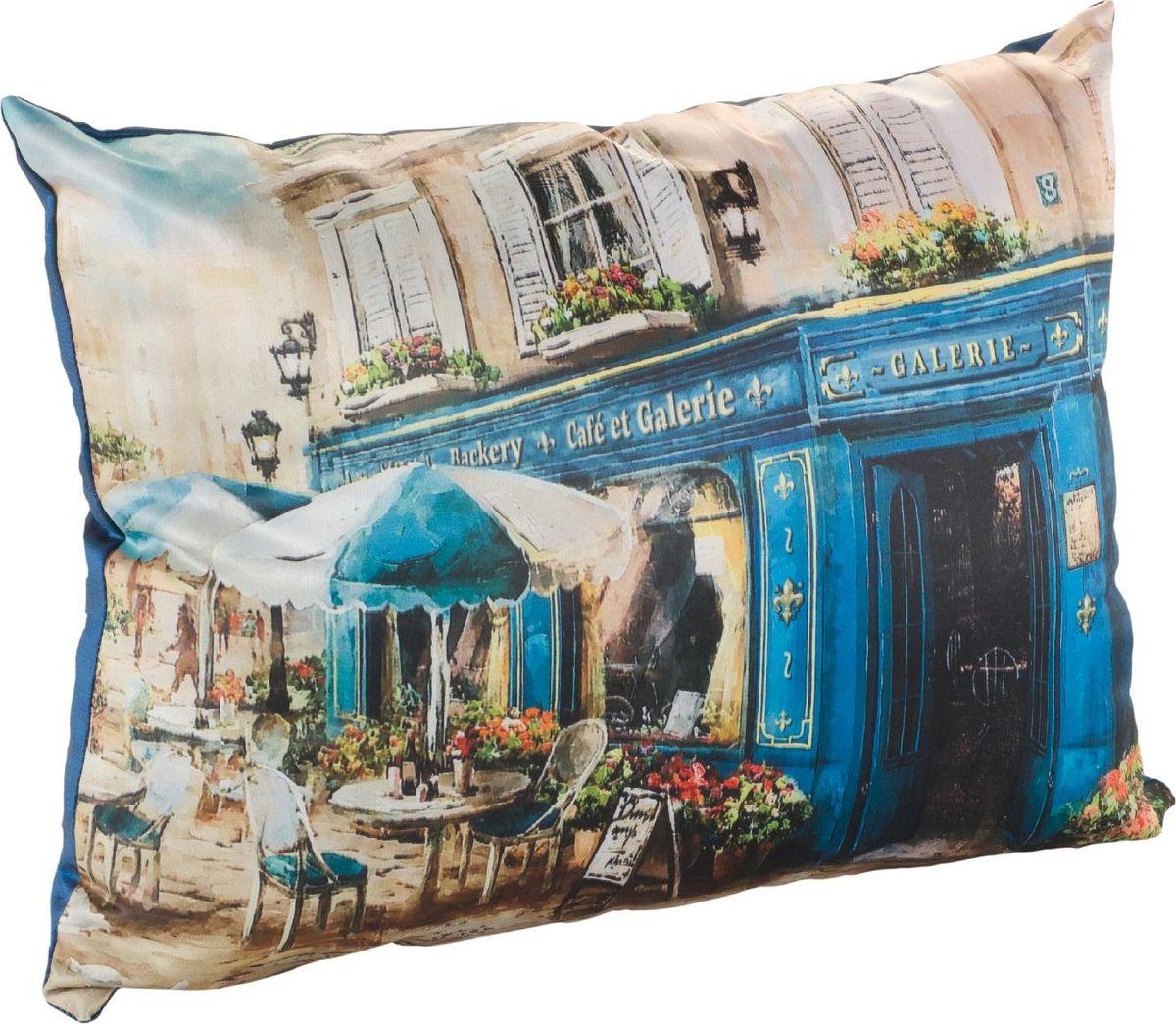 Подушка декоративная GiftnHome Завтрак в Париже, 30 х 40 см02-V049/1Подушка декоративная Завтрак в Париже, 30х40 материал: Атлас, (искусственный шелк). Наволочка на молнии + подушка с синтетическим наполнителем.