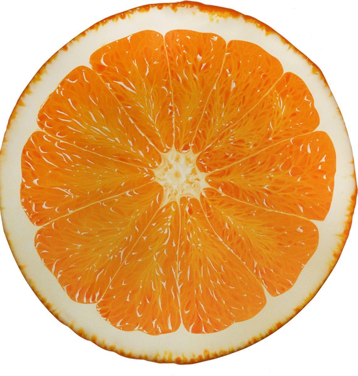 """Подушка на стул Gift'n'Home """"Апельсин"""", 40 х 40 х 2 см"""