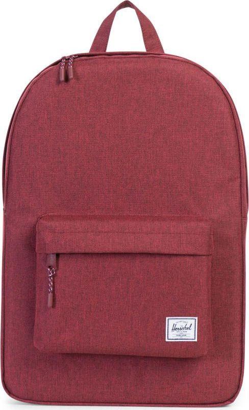 Рюкзак городской Herschel Classics, цвет: бордовый, 22 л. 10001-01158-OS332515-2800Рюкзак Herschel Classic целиком и полностью оправдывает свое название, выражая совершенство в лаконичных и идеальных линиях. Этот рюкзак создан для любых целей и поездок и отлично впишется в абсолютно любой стиль.