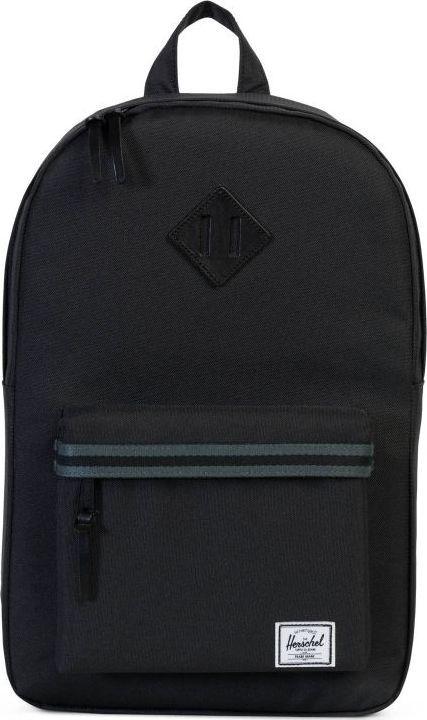 Рюкзак городской Herschel Heritage Mid-Volume, цвет: черный, 14,5 л. 10019-01557-OS рюкзак herschel heritage mid volume lucite green black rubber