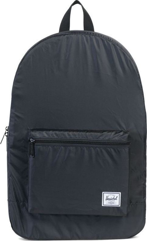 Рюкзак городской Herschel Packable Daypack, цвет: черный, 24,5 л. 10076-01566-OSУТ-000052601Herschel Packable Daypack больше, чем рюкзак благодаря тому, что легко сворачивается в свой собственный карман, занимая минимум места в сложенном виде. Этот рюкзак можно без особых проблем захватить с собой в путешествие или на прогулку по городу и он будет занимать минимум места, пока не понадобится его полезный объем в целых 24,5 литра.