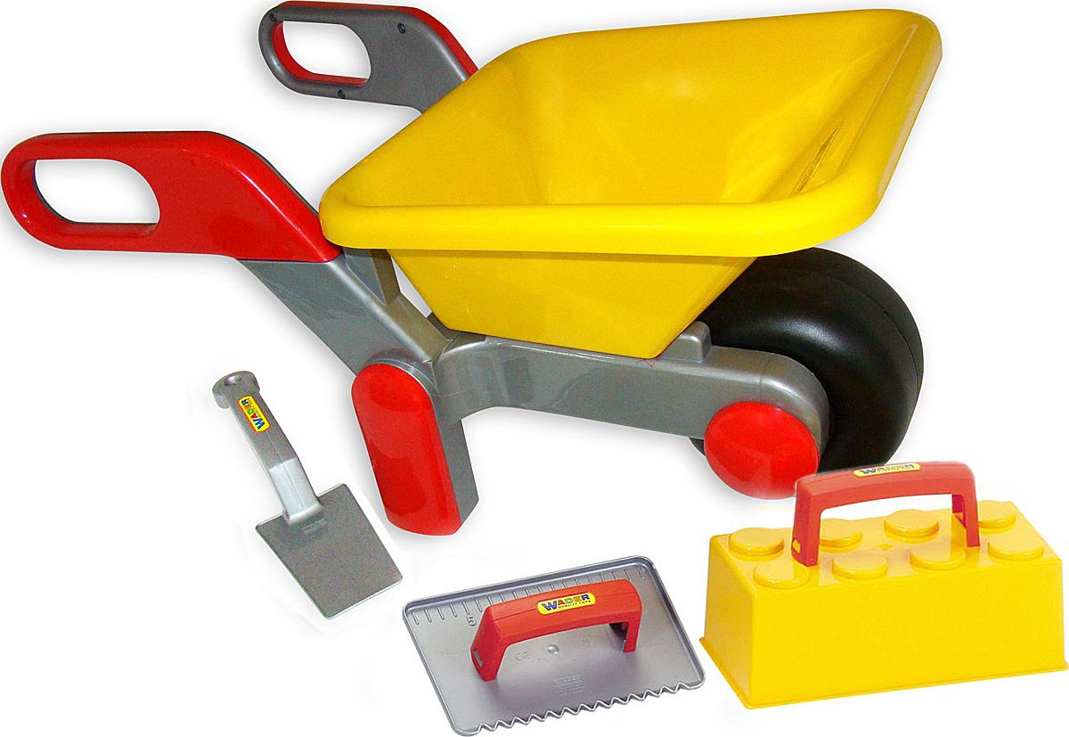 Полесье Игровой набор Каменщика №2 и Тачка №4 - Сюжетно-ролевые игрушки