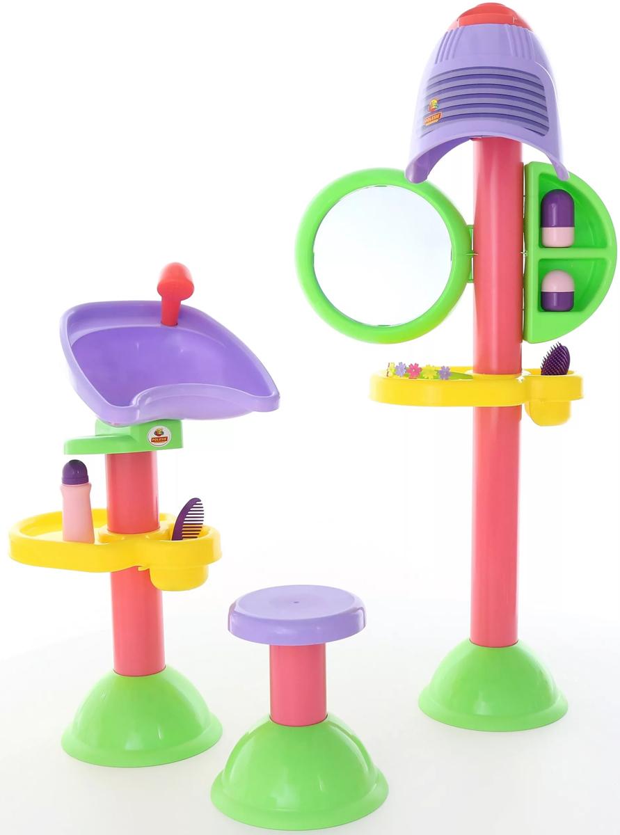 Полесье Игровой набор Парикмахерская Злата 58218 - Сюжетно-ролевые игрушки