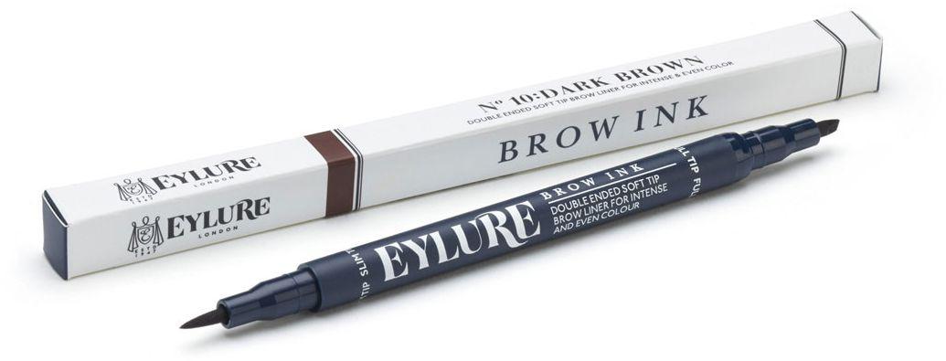 Eylure Маркер для бровей, тон 10 темно-коричневый, 12 г6008107Маркер для бровей 10 Темно-коричневый
