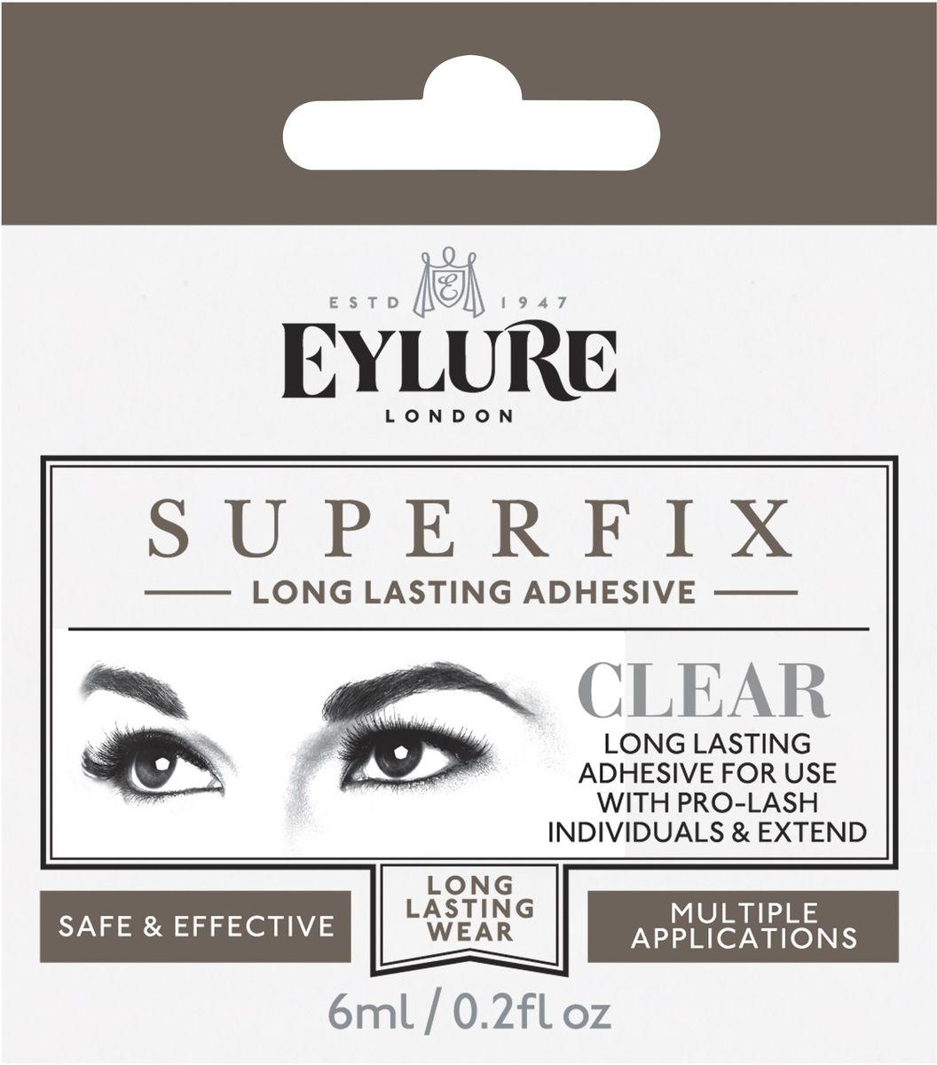 Eylure Клей для наращивания пучков и ресниц, 8,5 мл6003002Клей для наращивания пучков и ресниц
