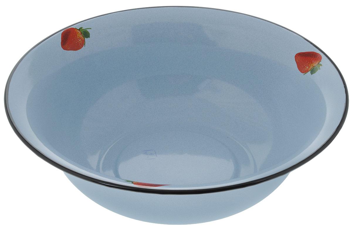 Таз Лысьвенские эмали, цвет: голубой, 9 л. С-3021/5Рб таз плетенка цвет бежевый 20 л