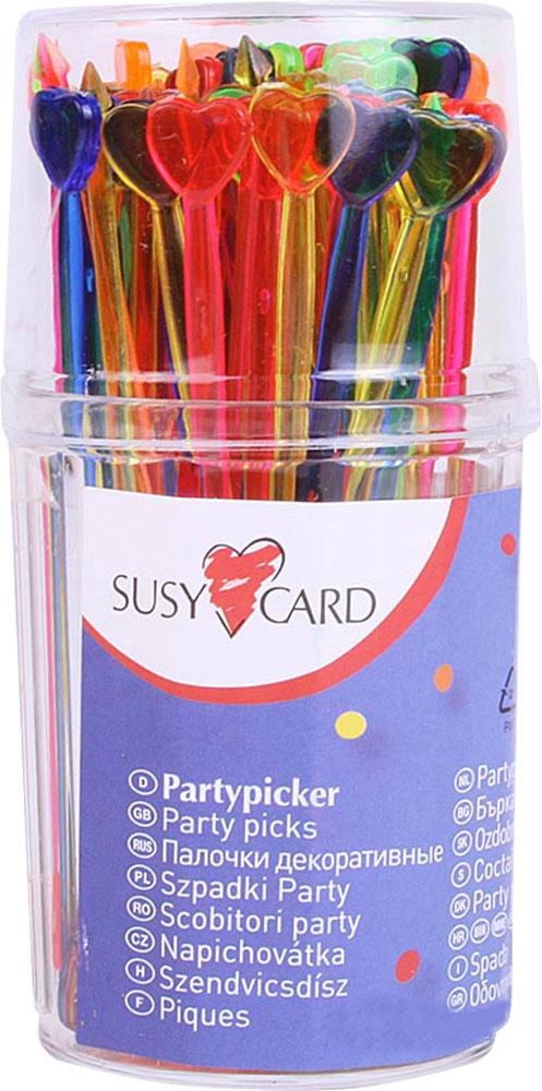 Susy Card Палочки для канапе Сердце 90 шт, Herlitz