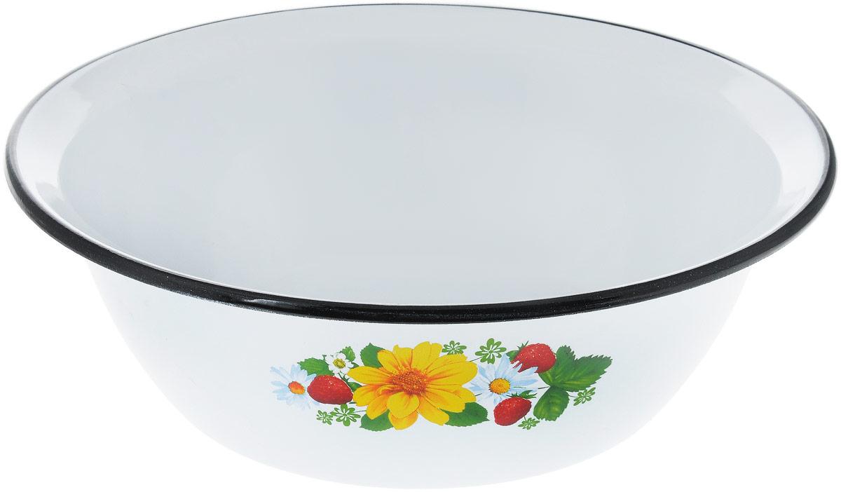 Миска СтальЭмаль, цвет, белый, желтый, зеленый, 3,5 л115510Миска СтальЭмаль изготовлена из стали, покрытой эмалью. Такое покрытие защищает сталь от коррозии, придает посуде гладкую стекловидную поверхность и надежно защищает от кислот и щелочей. Миска подойдет для перемешивания продуктов, приготовления салатов и маринования мяса. Кроме того, изделие отлично подходит для приготовления пищи на природе. За счет ее компактного размера и формы миску удобно хранить в шкафу с другими кухонными принадлежностями. Миска СтальЭмаль станет незаменимым аксессуаром на кухне любой хозяйки. Диаметр (по верхнему краю): 28 см. Высота стенки: 9 см.