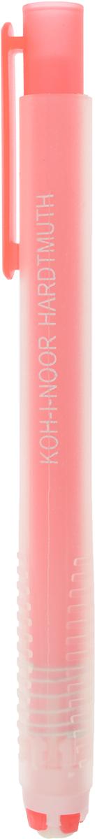 Koh-i-Noor Ластик выдвигающийся цвет оранжевый9736000002PS_оранжевыйМеханический пластиковый карандаш со стержнем-ластиком, подходит для цветных и чернографитных карандашей.