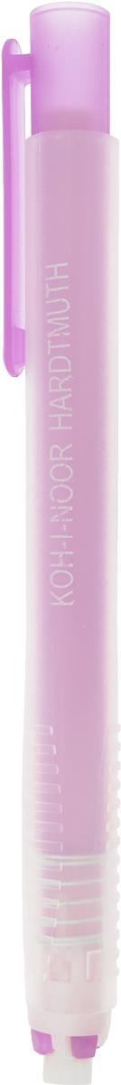 Koh-i-Noor Ластик выдвигающийся цвет сиреневый9736000002PS_сиреневыйМеханический пластиковый карандаш со стержнем-ластиком, подходит для цветных и чернографитных карандашей.