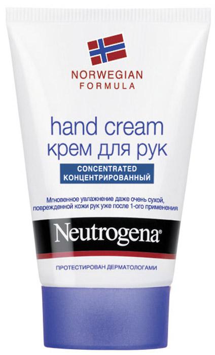 Крем для рук Neutrogena, с запахом, 50 мл35568/25845Крем Neutrogena великолепно увлажняет руки благодаря рекордно высокому содержанию глицерина на уровне 40%. Клинические исследования подтверждают, что крем мгновенно помогает сухой, очень сухой и поврежденной коже рук. Заметно улучшает внешний вид кожи, восстанавливает ее защитный барьер.Благодаря концентрированной формуле небольшого количества крема достаточно, чтобы кожа рук стала мягче уже с первого применения. Характеристики: Объем: 50 мл. Производитель: Испания. Товар сертифицирован. Марка Neutrogena - признанный эксперт в области очищения кожи. Все средства Neutrogena рекомендованы Российской ассоциацией дерматологов и обеспечивают комплексный уход за кожей в зависимости от ваших индивидуальных потребностей.