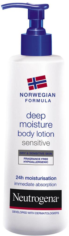 Neutrogena Норвежская Формула Молочко для тела Глубокое увлажнение, для сухой и чувствительной кожи, 250 мл64244/76NEUTROGENA® предлагает решение проблемы сухой и чувствительной кожи: молочко для тела «Глубокое увлажнение» для чувствительной кожи, протестированное дерматологами на чувствительной коже, гарантирует увлажнение в течение 24 ч и защищает Вашу сухую чувствительную кожу. Клинически доказано, что уникальная формула молочка увлажняет до 10 слоя клеток рогового слоя эпидермиса. Уже после 1-ого применения Ваша кожа мягкая и хорошо увлажнена в течение 24 ч. Без запаха, формула молочка разработана таким образом, чтобы снизить риск аллергических реакций. Его легкая текстура мгновенно проникает в кожу, не оставляя жирной пленки. Вы можете одеваться сразу же после его применения. Товар сертифицирован.