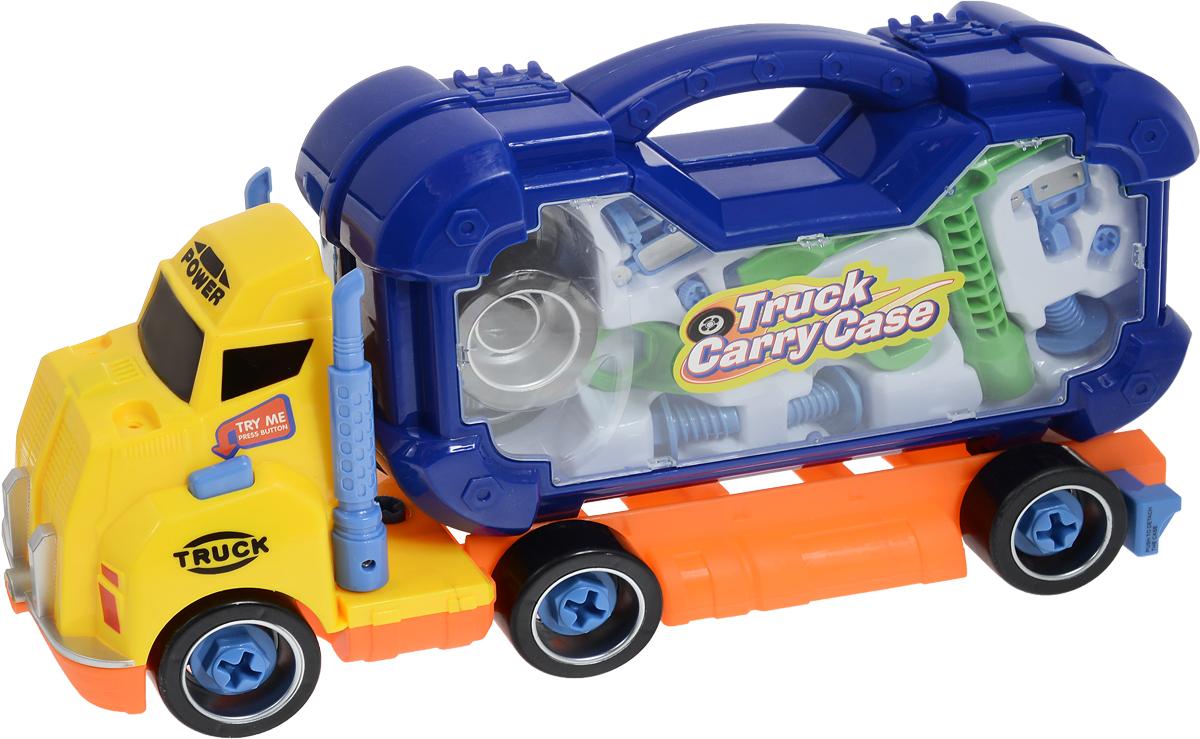Boley Игровой набор Машина Смелый гонщик с инструментами цвет синий - Игровые наборы
