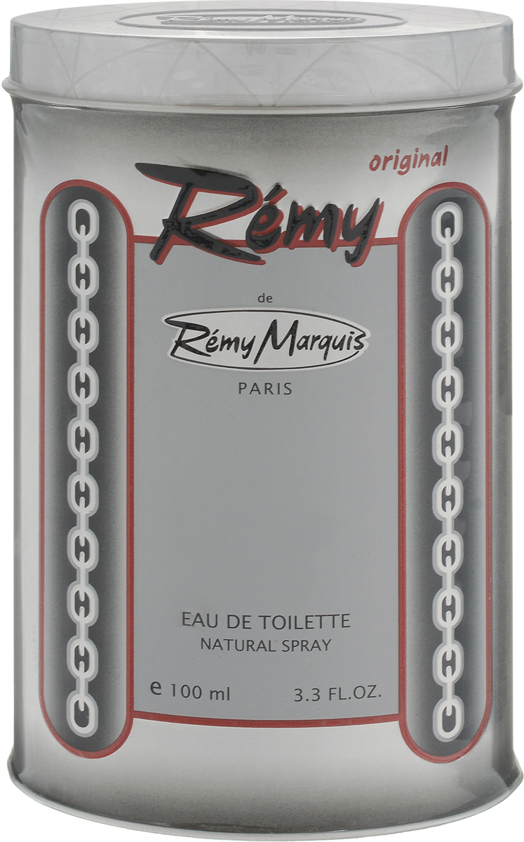 Remi Marquis Туалетная вода для мужчин Remy, 100 мл3700082500029Запах Remy вызовет у вас чувство уверенности в своей неотразимости. Верхние ноты: бергамот, грейпфрут, лимон, мята. Ноты сердца: герань, корица, мускатный орех. Базовые ноты: кедр, мускус, сандаловое дерево, янтарь.