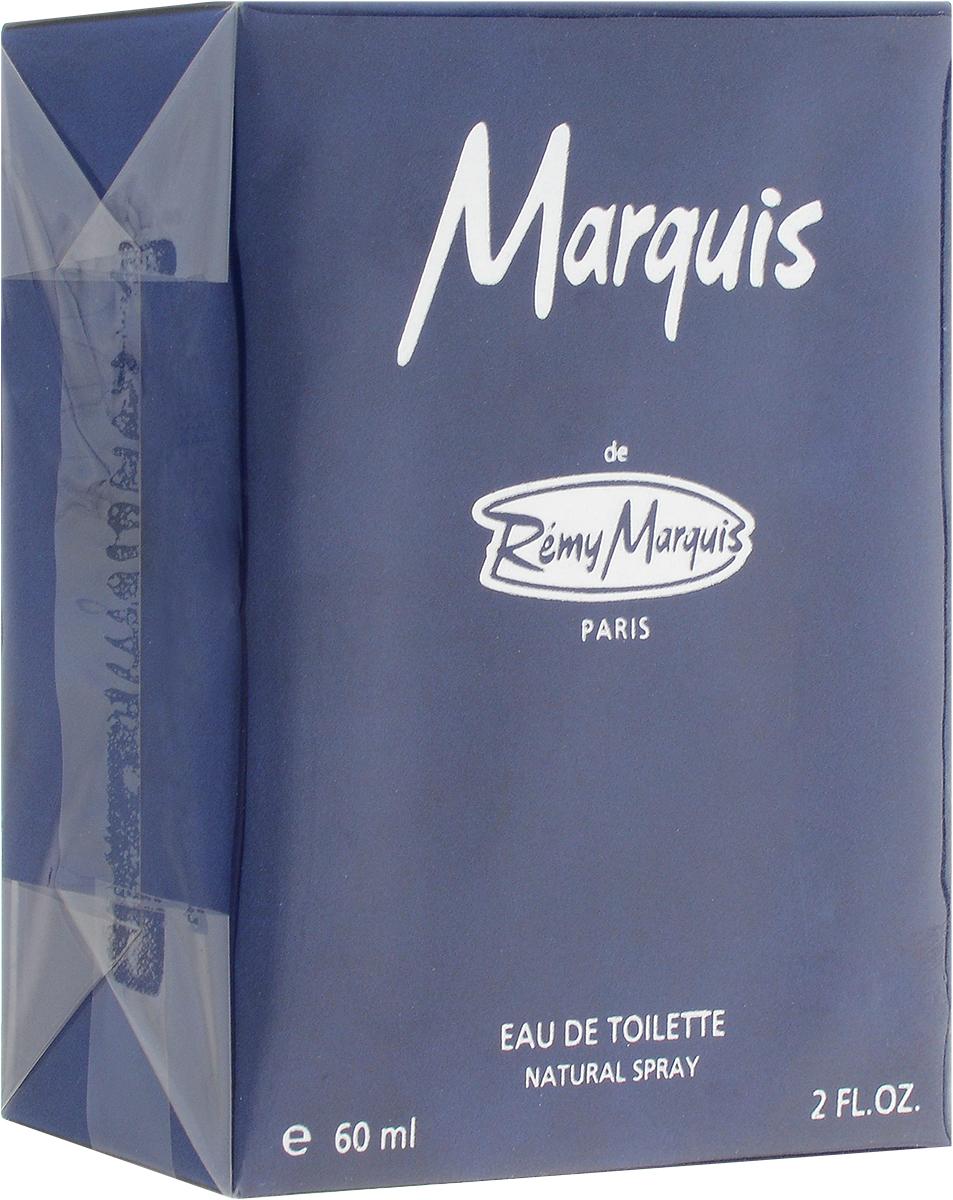 Remi Marquis Туалетная вода для мужчин Marquis, 60 мл3700082500050Богатый древесный парфюм для мужчин с изящным и тонким вкусом. Ароматные цитрусовые верхние ноты придают Marquis динамичный тонизирующий эффект, а четкий запах озона добавляет букету игривость. Затем главные ноты открываются пряным, теплым запахом, который раскрывается чувственными оттенками ароматов смолы и мускуса.