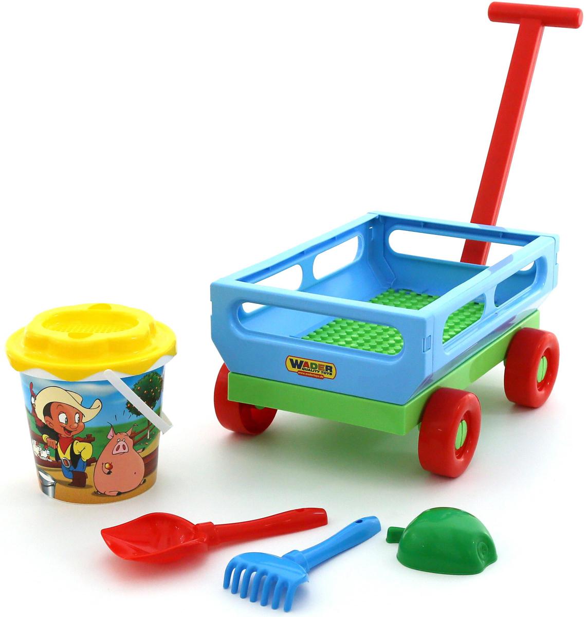 Полесье Набор игрушек для песочницы №420 - Игры на открытом воздухе
