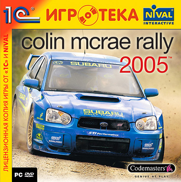 Colin McRae Rally 2005 colin barnes exploring disability