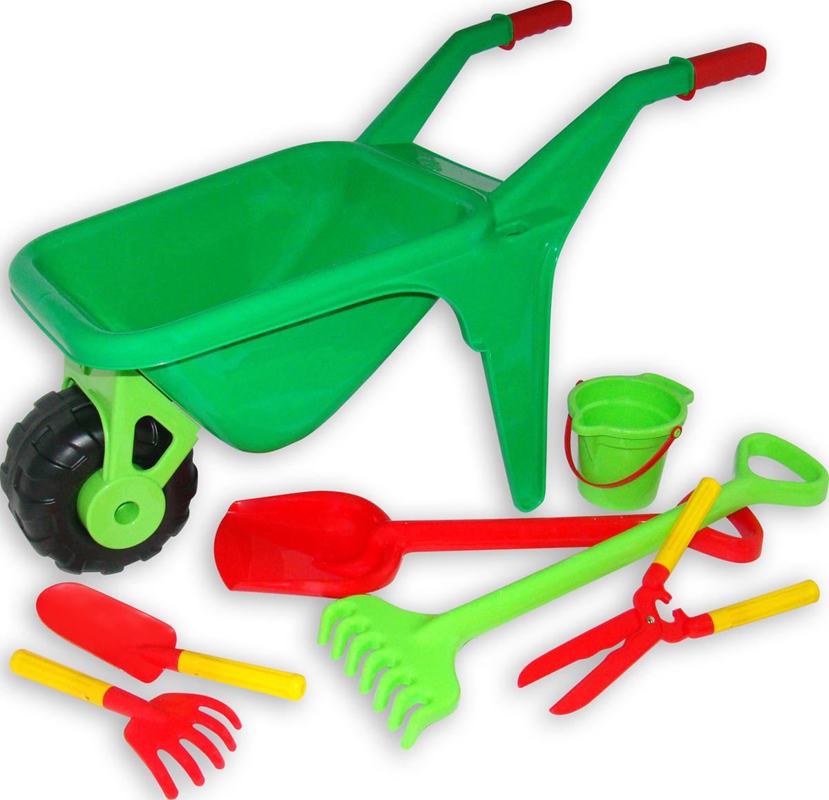 Полесье Набор игрушек для песочницы №454 - Игры на открытом воздухе